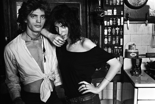 Patti Smith and Robert Smith, New York